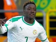 Sagna lidera a Senegal hasta cuartos. Captura/FIFATV