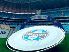Grêmio está de luto. Twitter/Gremio