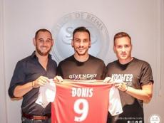 Anastasios Donis llega cedido al Stade de Reims. Twitter/StadeDeReims