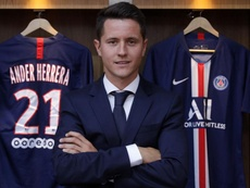 Herrera speaks perfect French. PSG