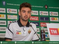 El Elche pide anular la 'cláusula del miedo' de Andoni López en Copa. ElcheCF