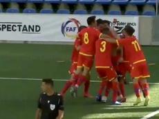 Andorra obtuvo un gran resultado. Captura/Twitter/Paco_Virues