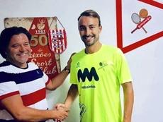 André Claro firma por dos temporadas con el conjunto portugués. SetubalFC