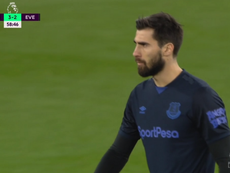 Andre Gomes returned after just three and a half months. Captura/DAZN