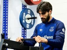 André Gomes falou de seu primeiro treino no Barça. EvertonFC