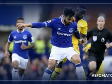 André Gomes se estrenó con el Everton. Everton