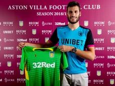 El Aston Villa no cuenta con Moreira. AVFCOfficial