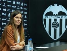 Las lesiones le han obligado a retirarse. Twitter/ValenciaCFFemenino