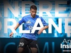 Orlandi seguirá jugando en Italia. NovaraChannel
