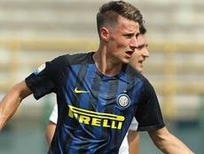 Pinamonti vuelve al Inter. AFP