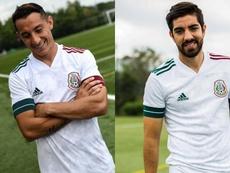 O novo uniforme da Seleção Mexicana. Twitter/miseleccionmx