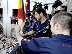 Casillas e Iniesta fueron clave en el Mundial de Sudáfrica. EFE