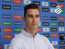 Andrés Prieto se mostró seguro antes de viajar a Villarreal. RCDEspanyol