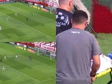 Andrés Roa hizo un golazo ante Rosario. Captura/TNT