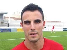 Andrés Salas Trenas, nuevo futbolista del Leiknir. AFE-Fútbol