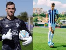 Real Madrid quer recuperar dois emprestados. EFE/RealValladolid