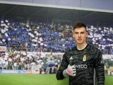 Lunin y el Oviedo miran el lado positivo. RealOviedo