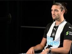 Carroll regresó hace poco al Newcastle. Newcastle