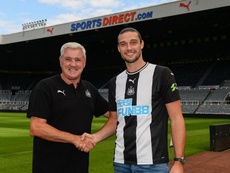 Carroll returns to Newcastle United on one-year deal. NUFC