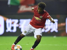 Chelsea attend Angel Gomes. AFP