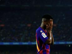Débat interne au Barça pour Ansu Fati. EFE