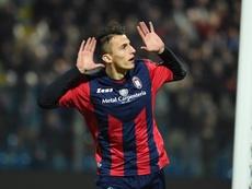 Ante Budimir jugará en el Mallorca. EFE/Archivo