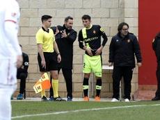 El Mallorca se llevó el triunfo. RCD_Mallorca