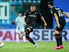 AC Milan had 39 shots against SPAL. Twitter/ACMilan
