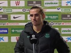 Griezmann recuperou o seu faro de gol. Captura/MovistarLaLiga