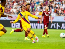 A base garante a vitória do Barça no Japão