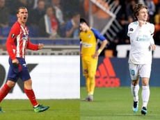 Griezmann and Modric have been tipped to win this year's Ballon D'Or. EFE