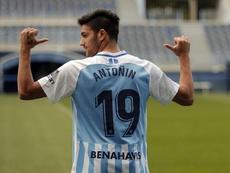Antoñín, nuevo jugador del Malaga CF. MalagaCF