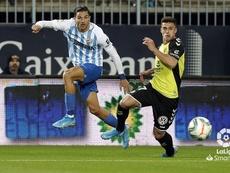 El Málaga, firme ante las ofertas por Antoñín. LaLiga