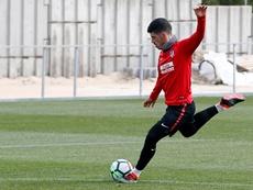 Montoro se suma a los convocados de Simeone. ClubAtléticodeMadrid/Alberto Molina