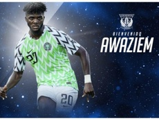 Chidozie Awaziem, nuevo jugador del Leganés. CDLeganés