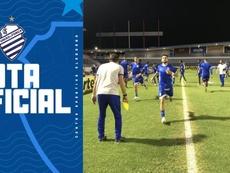 Aplazado un partido en Brasil... ¡tras 20 positivos por COVID-19! Twitter/CSAoficial