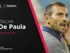 De Paula, nuevo director deportivo del Badajoz. CDBadajoz