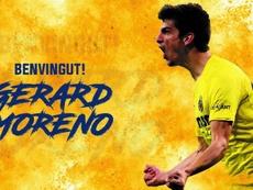 Gerard Moreno signe avec Villarreal. VillarrealCF