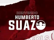 El 'Chupete' Suazo está de vuelta en la élite. Captura/LaSerena