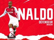 Naldo débarque à Monaco. Twitter/ASMonaco