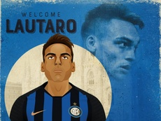 Martinez joins Inter from Racing Club. Inter