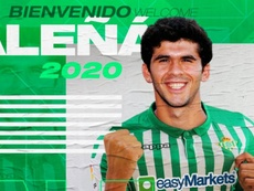 Aleñá è stato ceduto in prestito al Betis. RealBetis