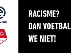 Un minuto de parón para luchar contra el racismo. Eredivisie