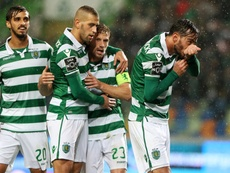 Sporting -. Moreirense, os onzes. Twitter