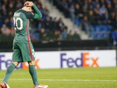 El Athletic volvió a caer a domicilio en Europa, esta vez ante el Genk belga. EFE/AFP