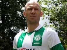 Arjen Robben anunciou aposentadoria em 4 de julho de 2019. Twitter/FCGroningen