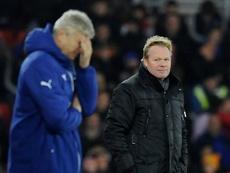 El entrenador del Everton ha respondido a las quejas de Wenger. AFP