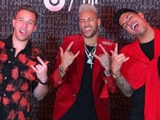 Arthur leva uma 'chamada'. Instagram/Neymar