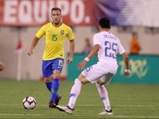 Arthur, alabado en Brasil. Twitter/CBF_Futebol