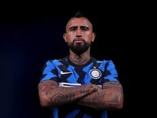 Lukaku elogió a Arturo Vidal en sus primeros días en el Inter. Captura/Inter